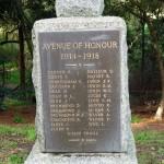 Harkaway Avenue of Honour
