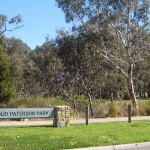 photo of Banjo Paterson Park signage