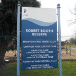 Robert Booth Reserve
