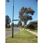 photo of Darcy Niland Crescent sign