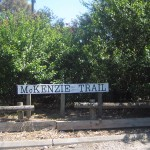 photo of McKenzie Trail signage