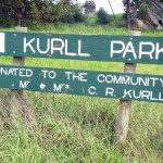 photo of Kurll Park signage
