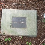 photo of plaque for EHC Russell