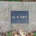 photo of plaque for GV Fry