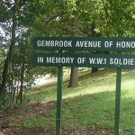 Gembrook Avenue of Honour in Memory of WW1 Soldiers