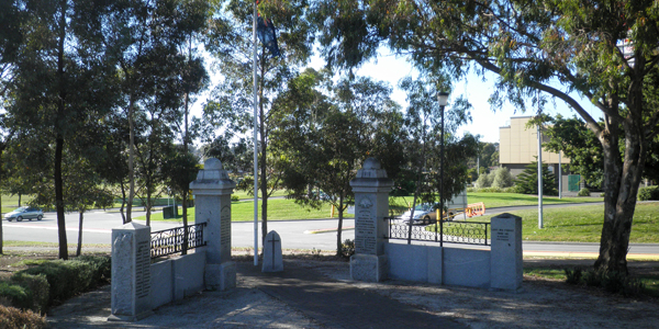 photo of Narre Warren Memorial Gates