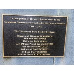 image of Gembrook Soldier Settlers Plaque
